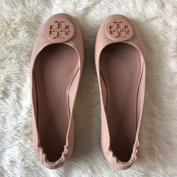 838c4386c Tory Burch nude Minnie ballet flat size 10.5. M 5b141399194dad31c9babc98